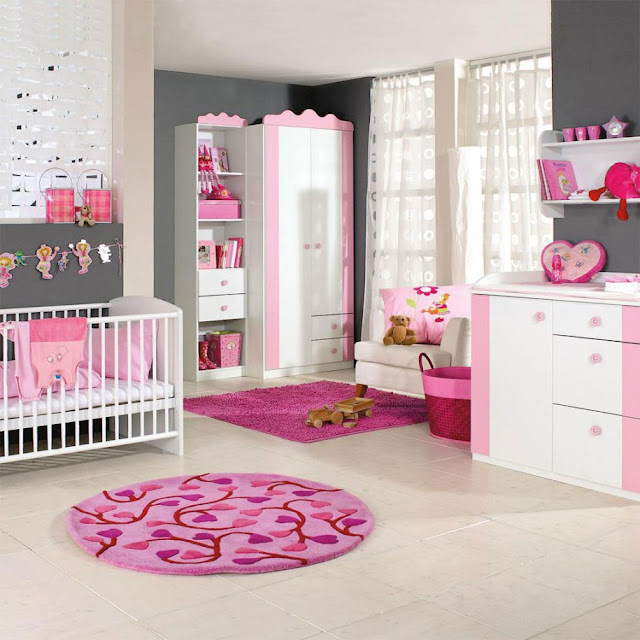 Girls Bedroom Background Cupboard Designs For Bedroom Bedroom Sets Bedroom Vaulted Ceiling Ideas: طريقة تزيين غرف بنات