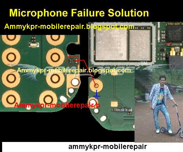 Nokia 5130 Mic Jumpering Problem Solution.How to jumper mic. : Mobile