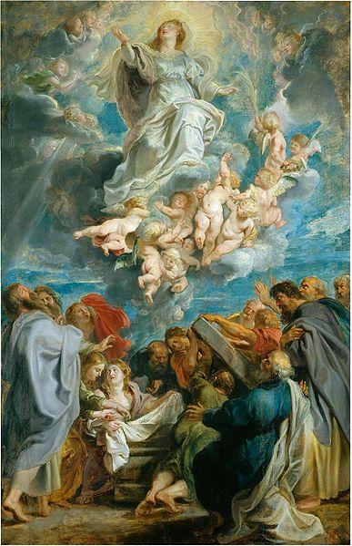 La Asunción de la Virgen Pintura de Peter Paul Rubens