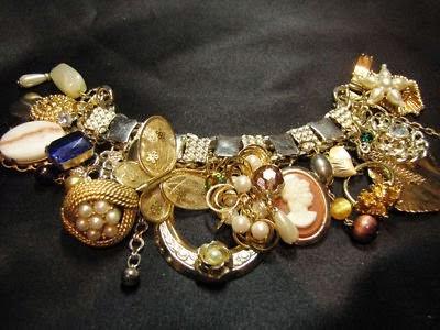 queen victoria charm bracelet