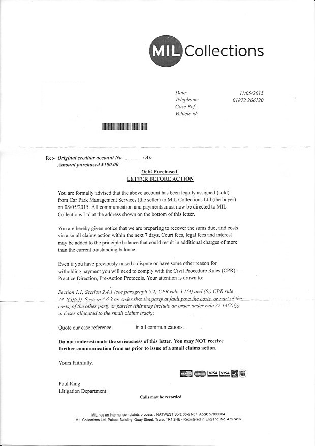 Small Claim Letter Before Action sample small claims letter – Claim Template Letter