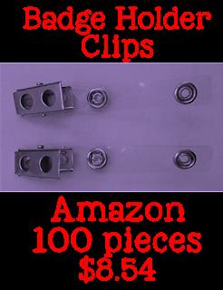 badge holder clips, Amazon, teacher tools