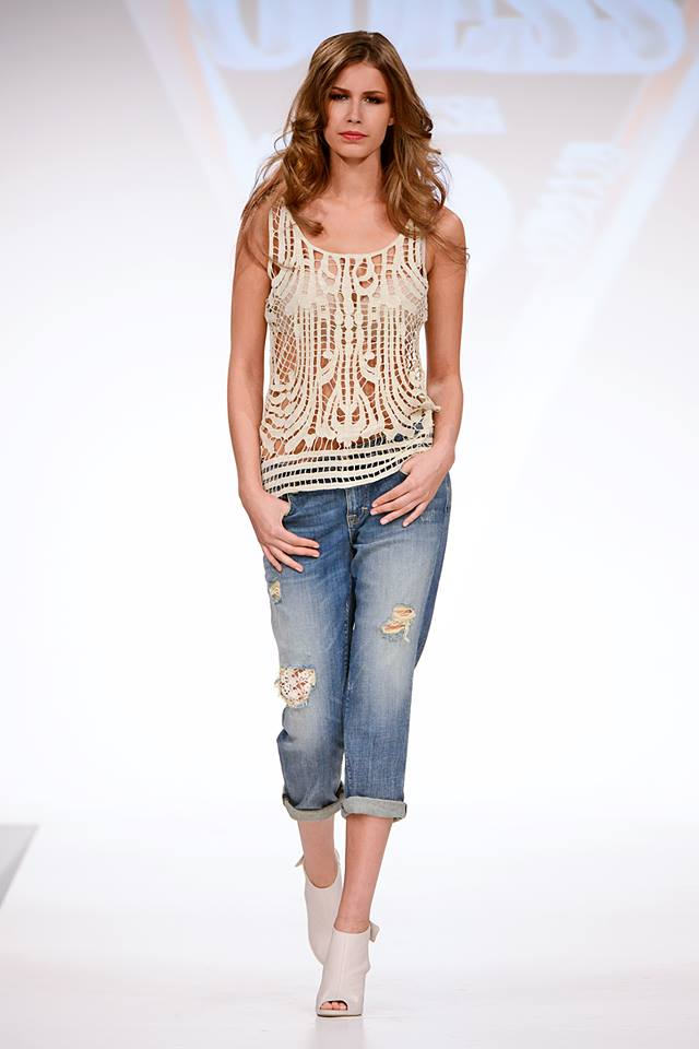 Guess Spring/Summer 2014 Collection (Italy Fashion Show ...
