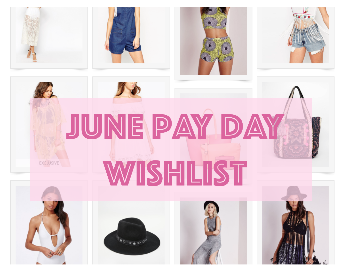 June Pay Day Wish List ♡