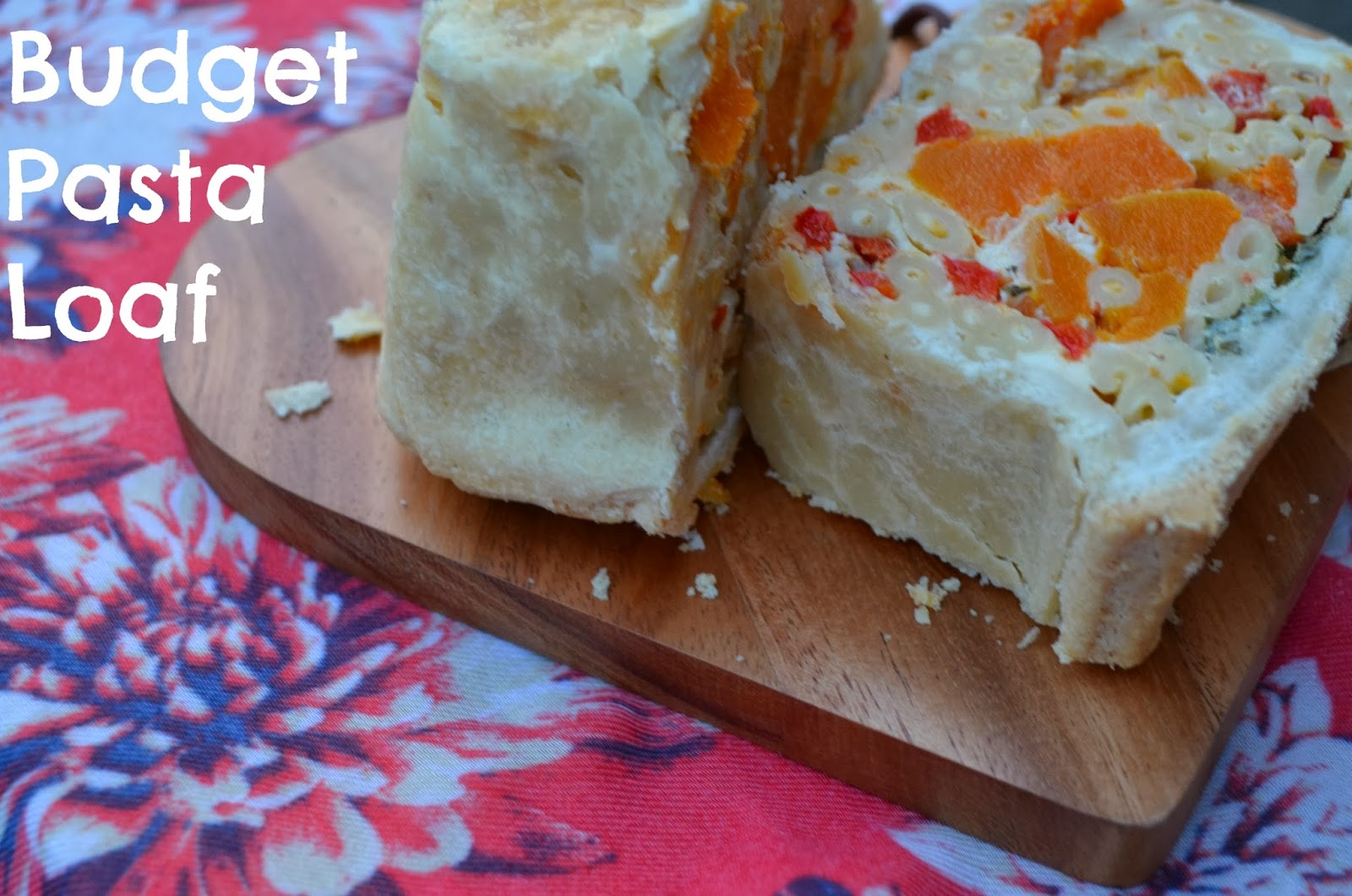 pasta loaf, budget recipe, pasta and pastry, cbias, social fabric