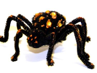 spider halloween pin