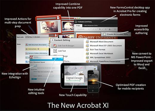 adobe acrobat new features