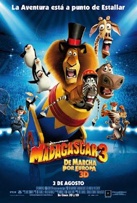 madagascar 3 13198 Madagascar 3: De marcha por Europa (2012) Español Latino