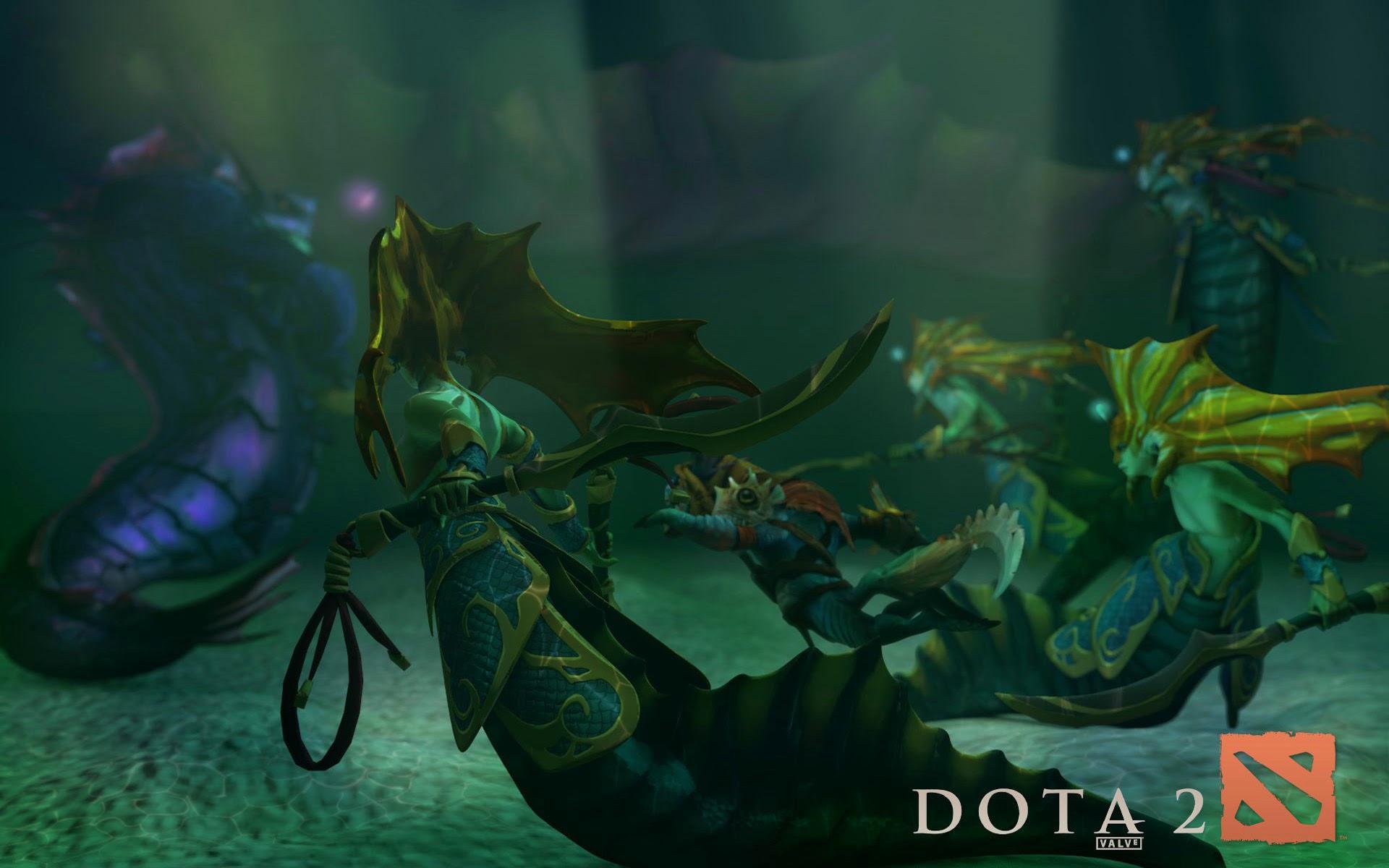 Naga Siren and Slark 9g Wallpaper HD