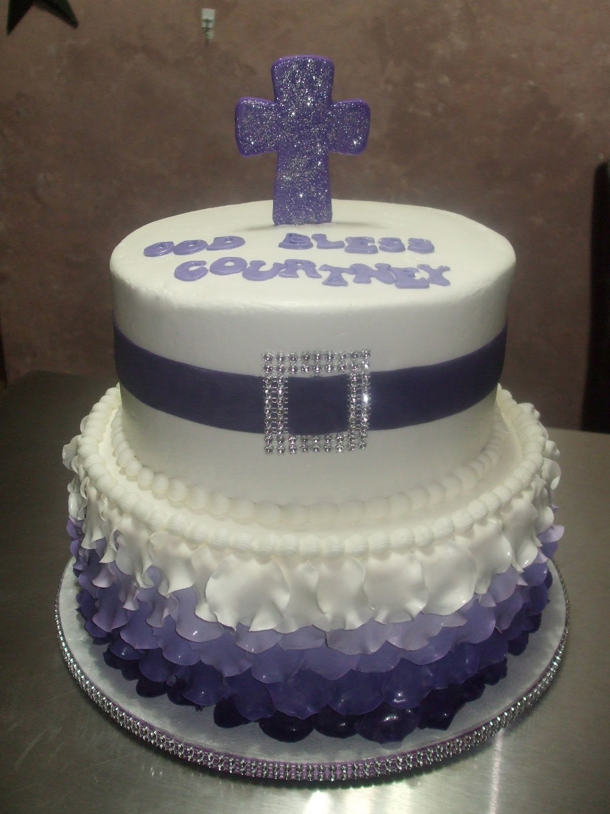 confirmation cake for girls