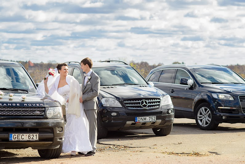 land rover vestuvėms