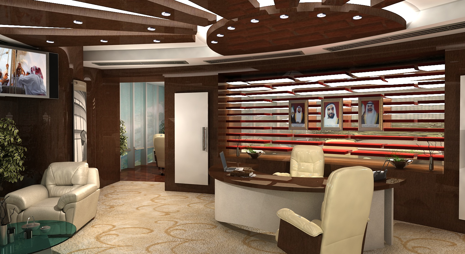 Gurooji design adia ceo 39 s office interior - Office interior ...