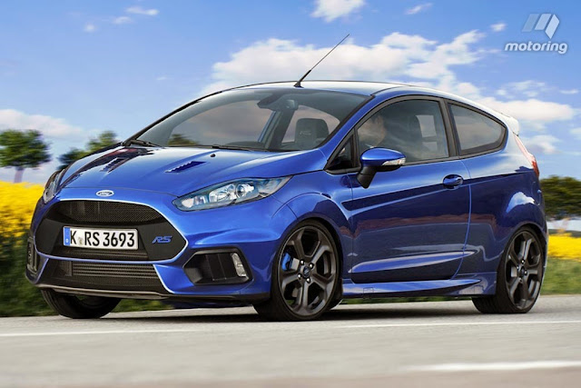 2017 Ford Fiesta RS Exterior and Interior