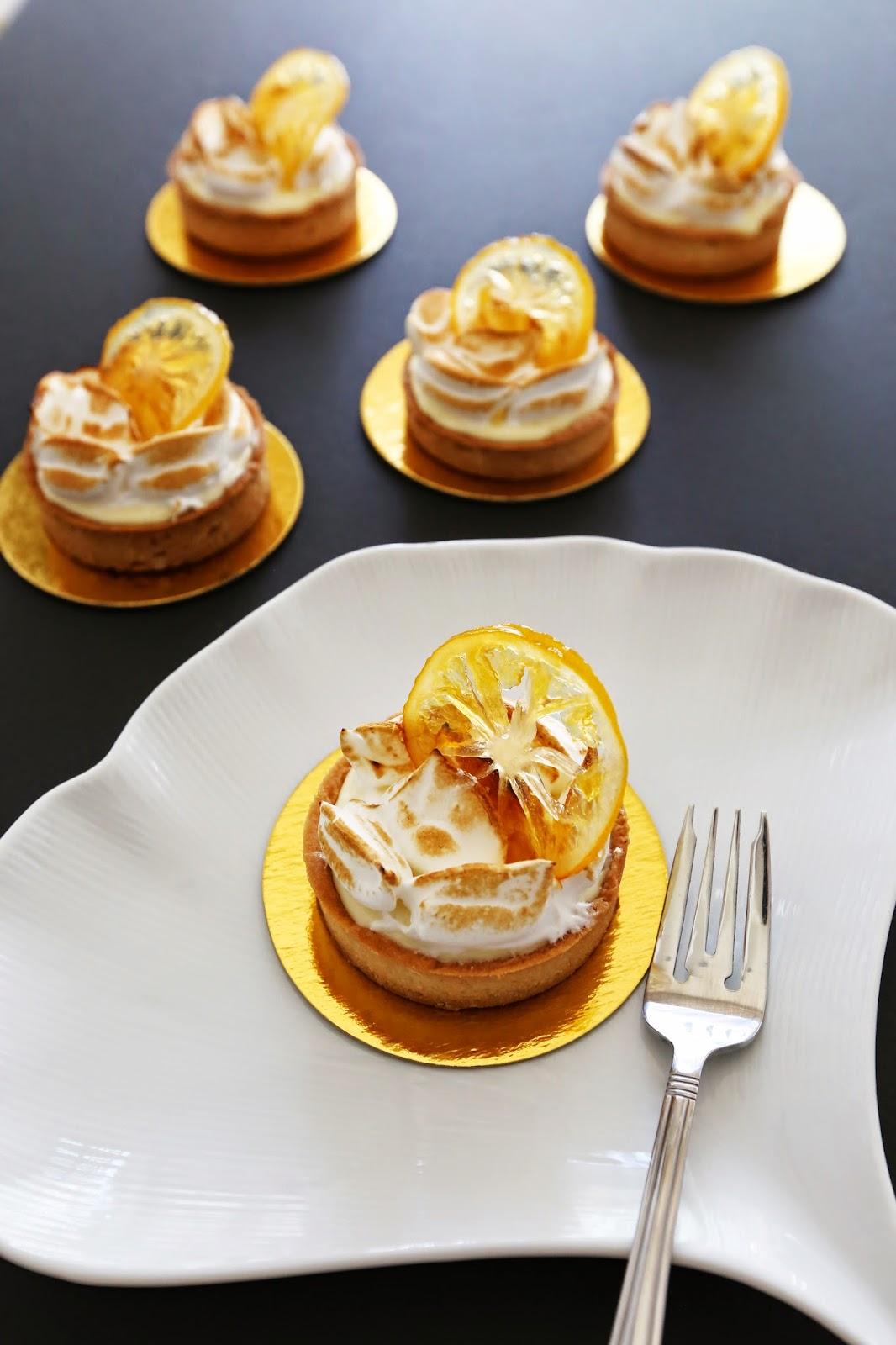 Gourmet Baking: Meyer Lemon Tart with Candied Lemon and Peel