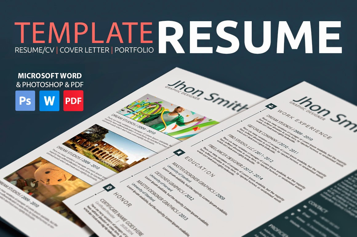 best professional resume templates  psd  ai  word