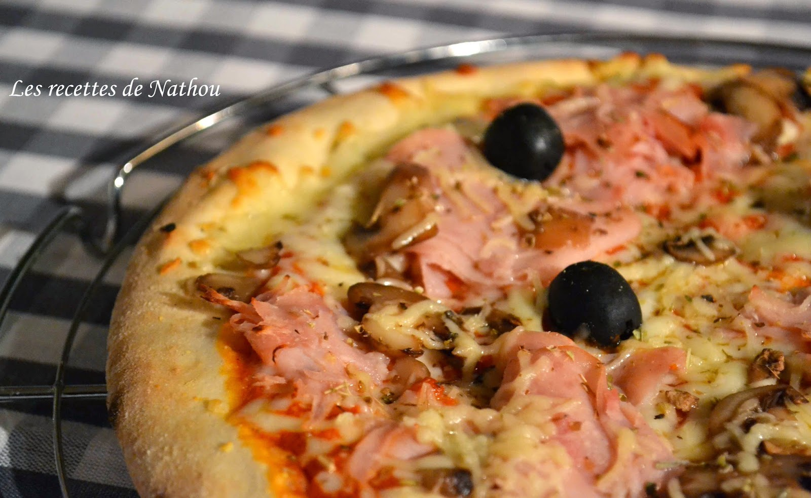 pizza prosciutto blogs de cuisine