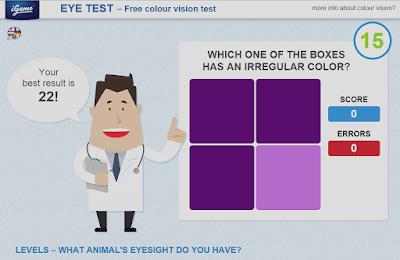eye test இணைய முகப்பு