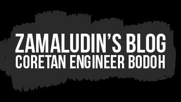 Zamaludin's Blog