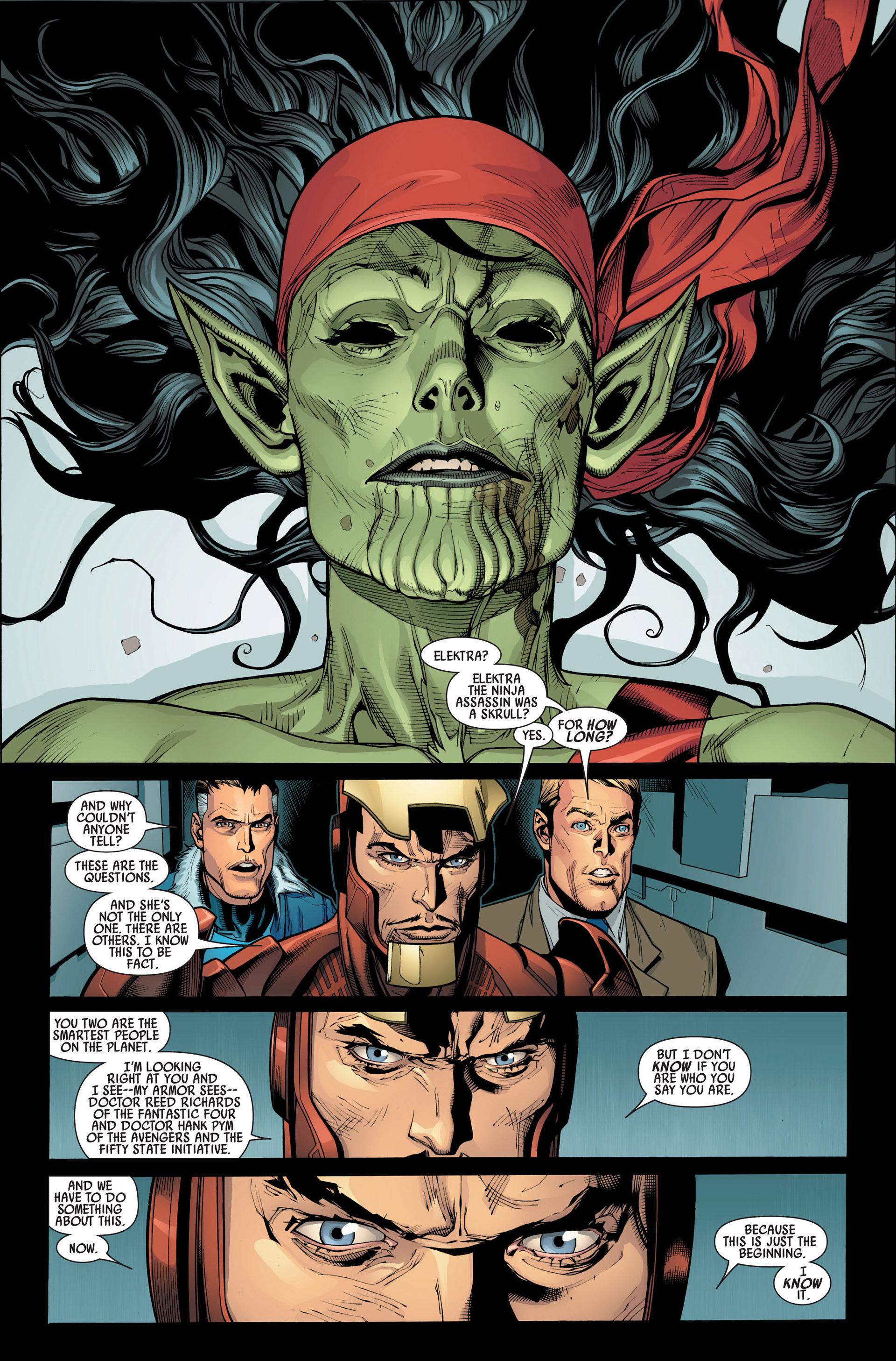 Read online Secret Invasion comic -  Issue #1 - 5