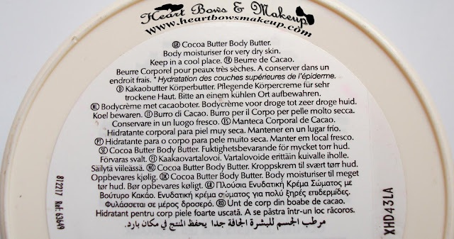 the body shop cocoa butter body butter review price india