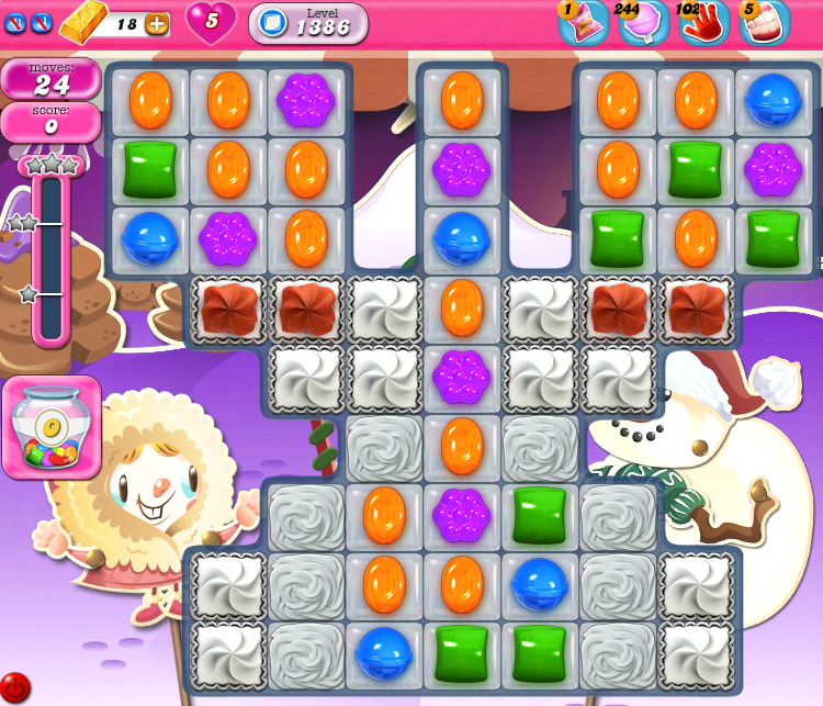 Candy Crush Saga 1386
