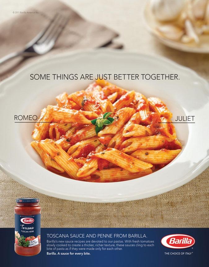 Barilla Toscana Sauce Ad
