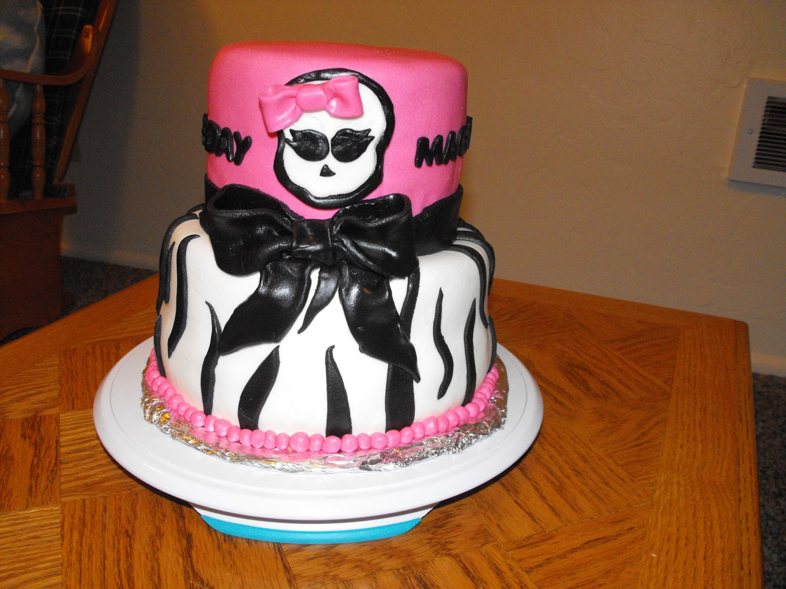 Patty Cakes Monster High Birthday