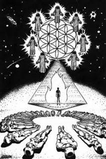 Pirámide, portal hacia la 4º dimensión y más allá.