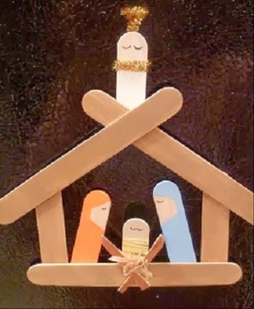 EcoNotas.com: Decoracion de Navidad con Palos de Helado Reciclados