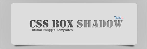 CSS3 Box-Shadow Di bawah Kotak