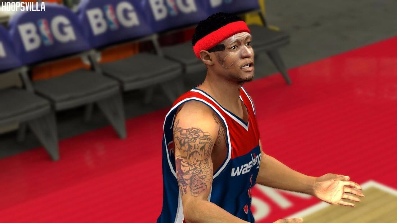 NBA 2k14 Cyberface Patch : Bradley Beal w/Mask (HD)