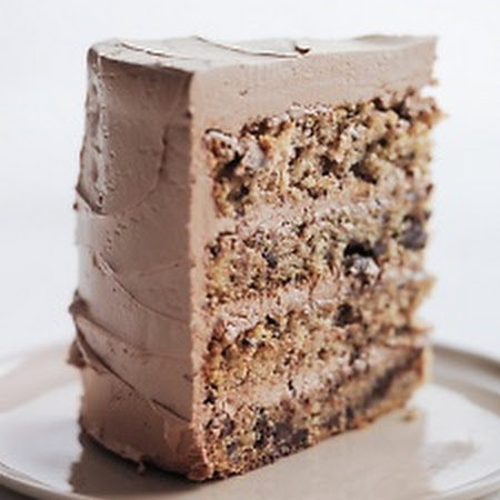 Stewart Chocolate-Flecked Layer Cake with Milk Chocolate Frosting ...