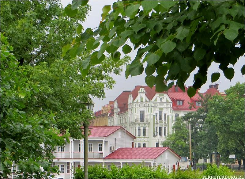 Фото Санкт-Петербурга Петроградская сторона летом