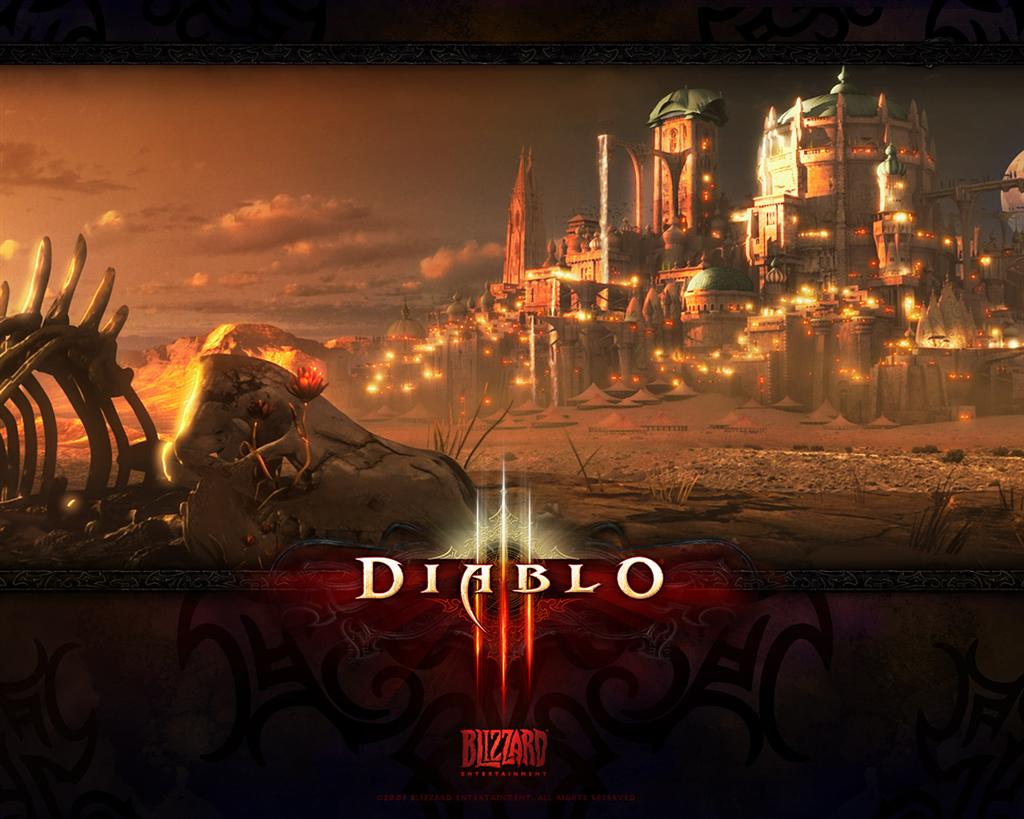 Diablo HD & Widescreen Wallpaper 0.999278119242274