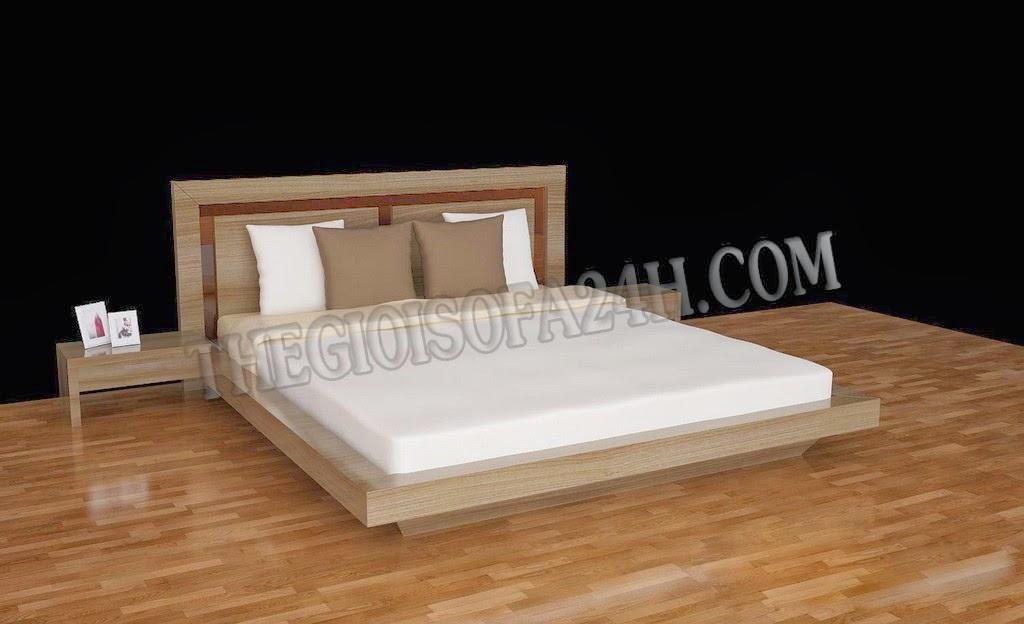 Giường ngủ GN055