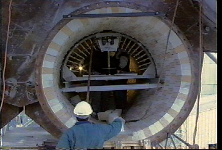 Inside Cement Kiln : Bricking solutions inc shurovsky cement holcim russia