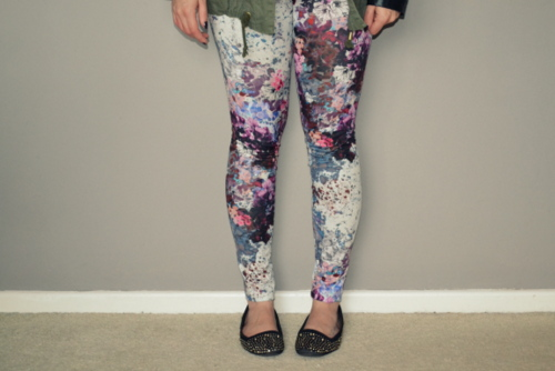 h-and-m-floral-leggings