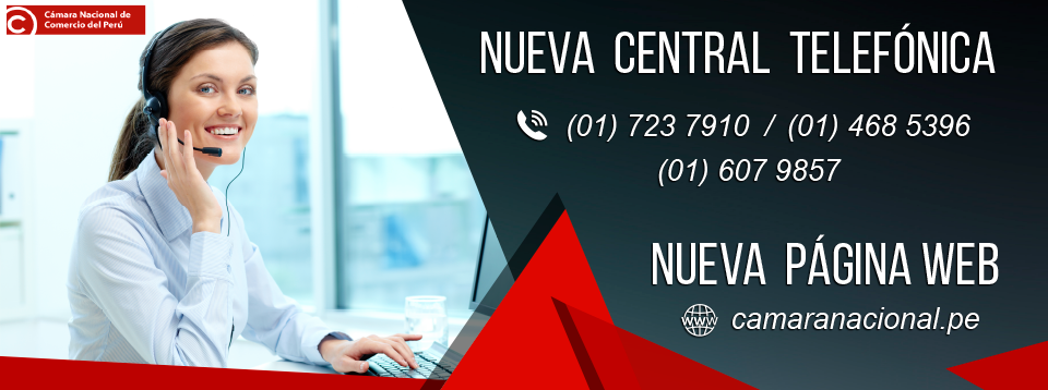 CÁMARA NACIONAL DE COMERCIO DEL PERÚ WEB OFICIAL www.camaranacional.pe