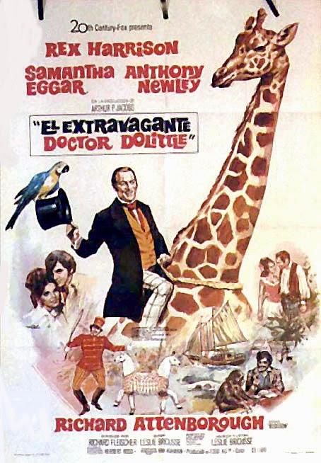 el extravagante doctor dolitte 1967