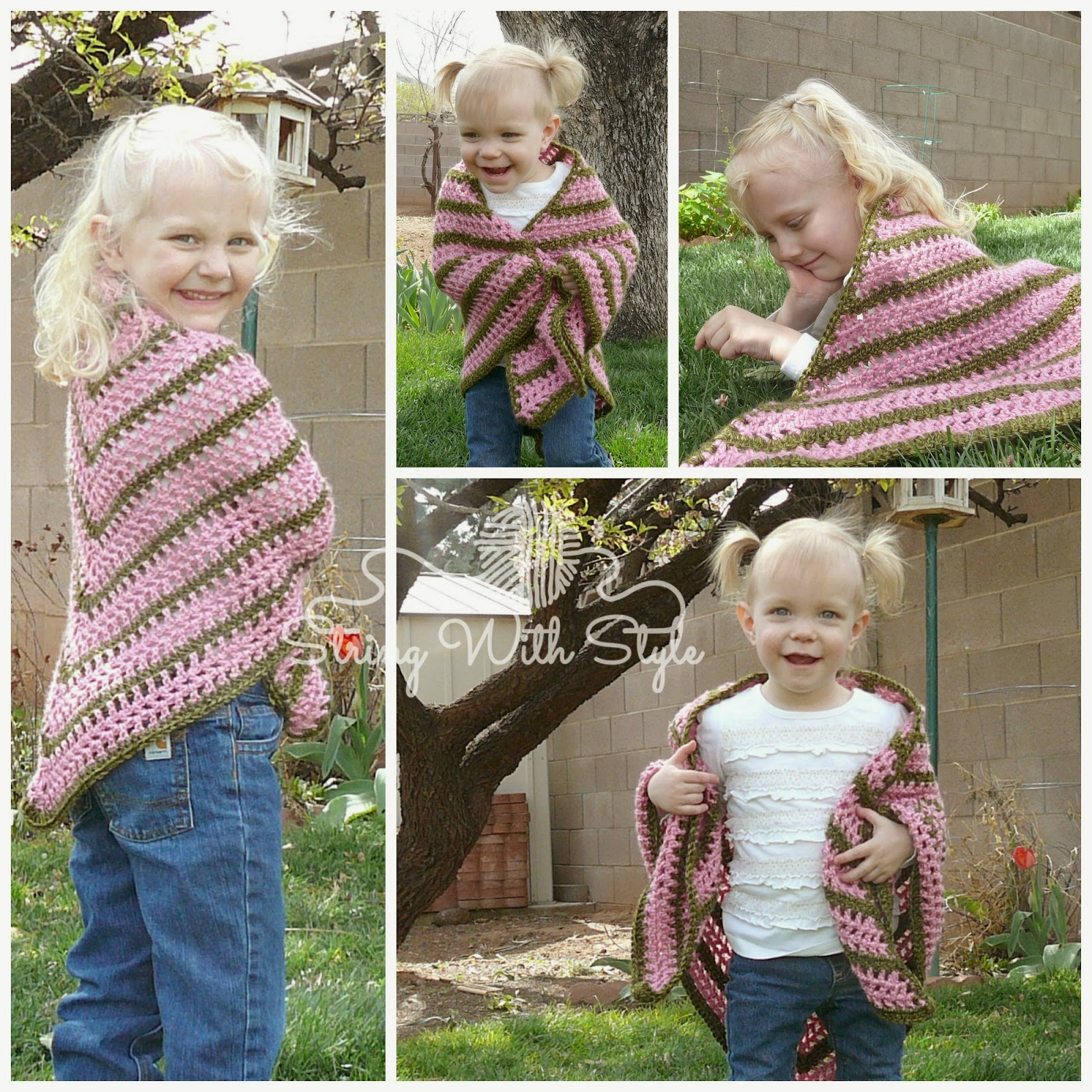 String With Style: Sassy Girl Triangle Shawl