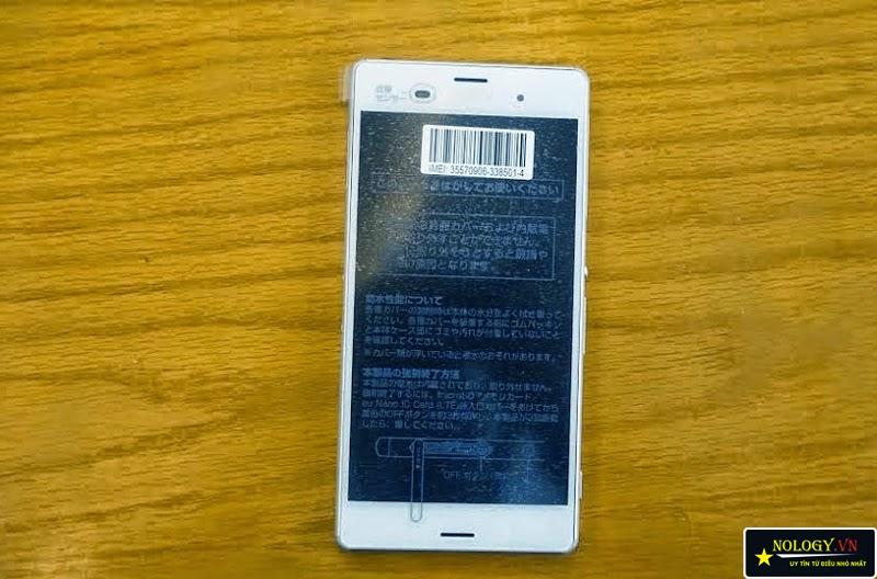 Hướng dẫn test Sony Xperia Z3 Nhật Bản