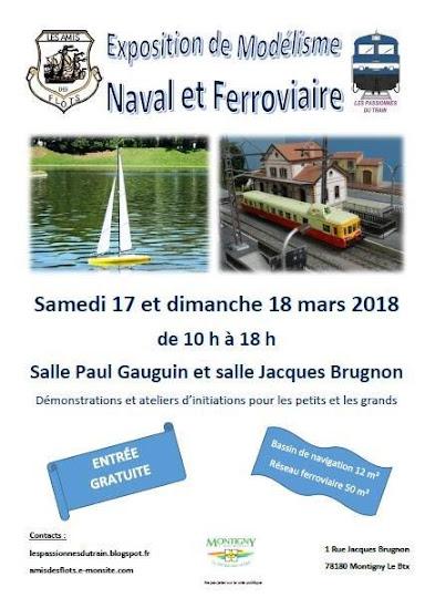 Notre Expo 17-18 Mars 2018 à Montigny le Bretonneux 78180