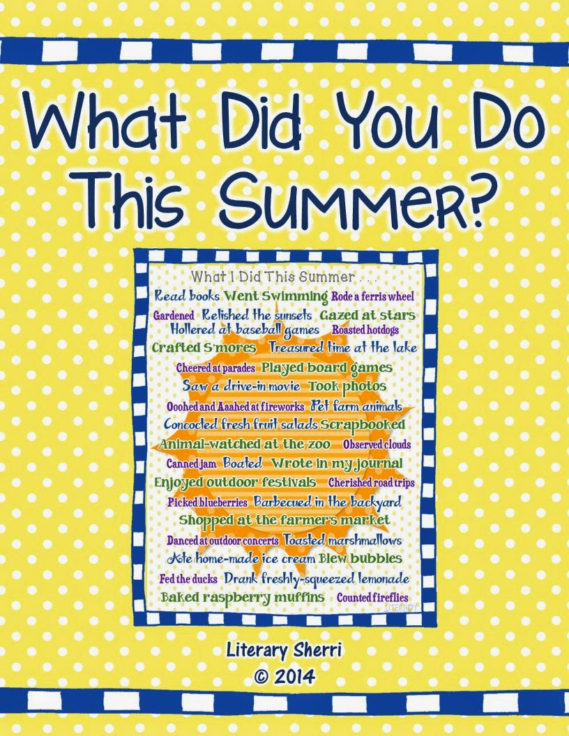 http://www.teacherspayteachers.com/Product/Beginning-of-Year-Activity-What-Did-You-Do-This-Summer-1341579