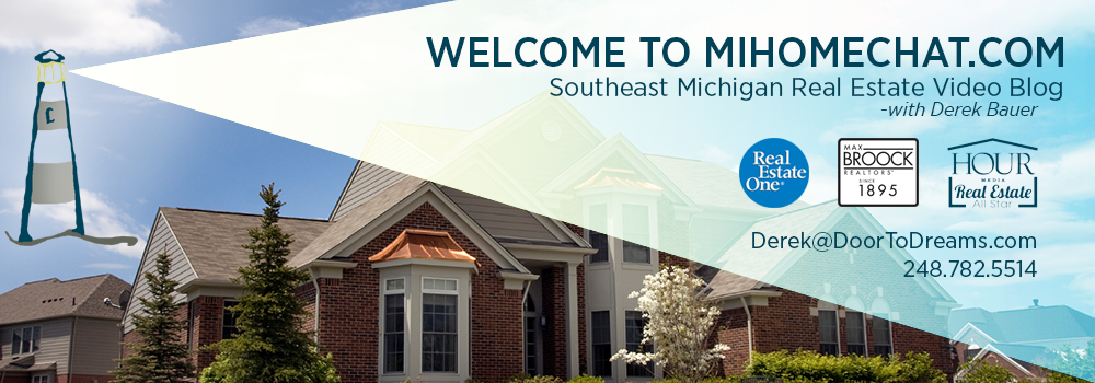 Southeast Michigan Real Estate Video Blog with Derek Bauer