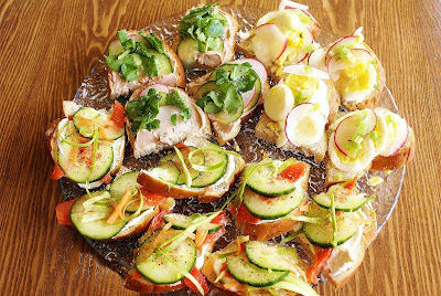 Open-Faced Sandwiches (Smørrebrød, Smørbrød, Smörgås)