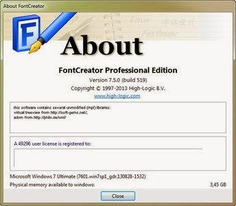 High-Logic FontCreator 6.0 Keygen  WORK 