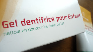 gel dentifrice pour enfant weleda bio