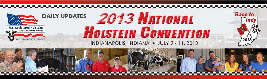 2013 National Holstein Convention - Daily Updates