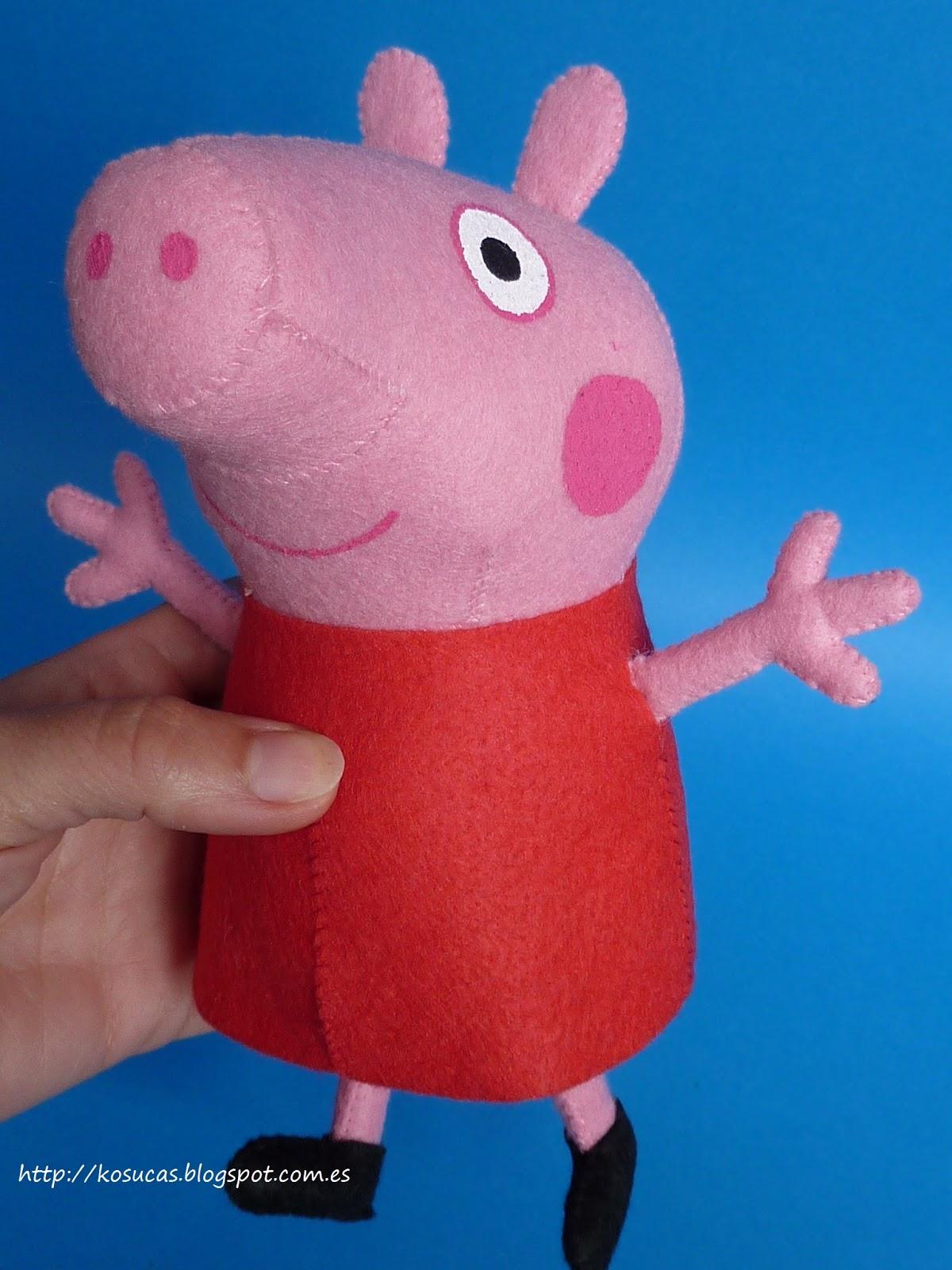 Как сшить игрушку свинка пеппа своими руками