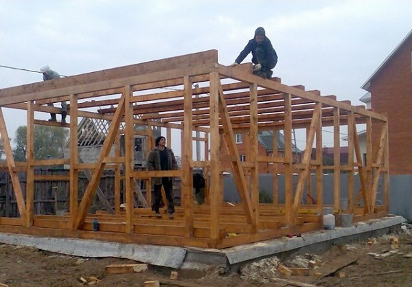 Каркасные дома как построить